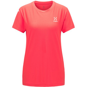 Haglöfs L.I.M Tech Camiseta Mujer, hibiscus red